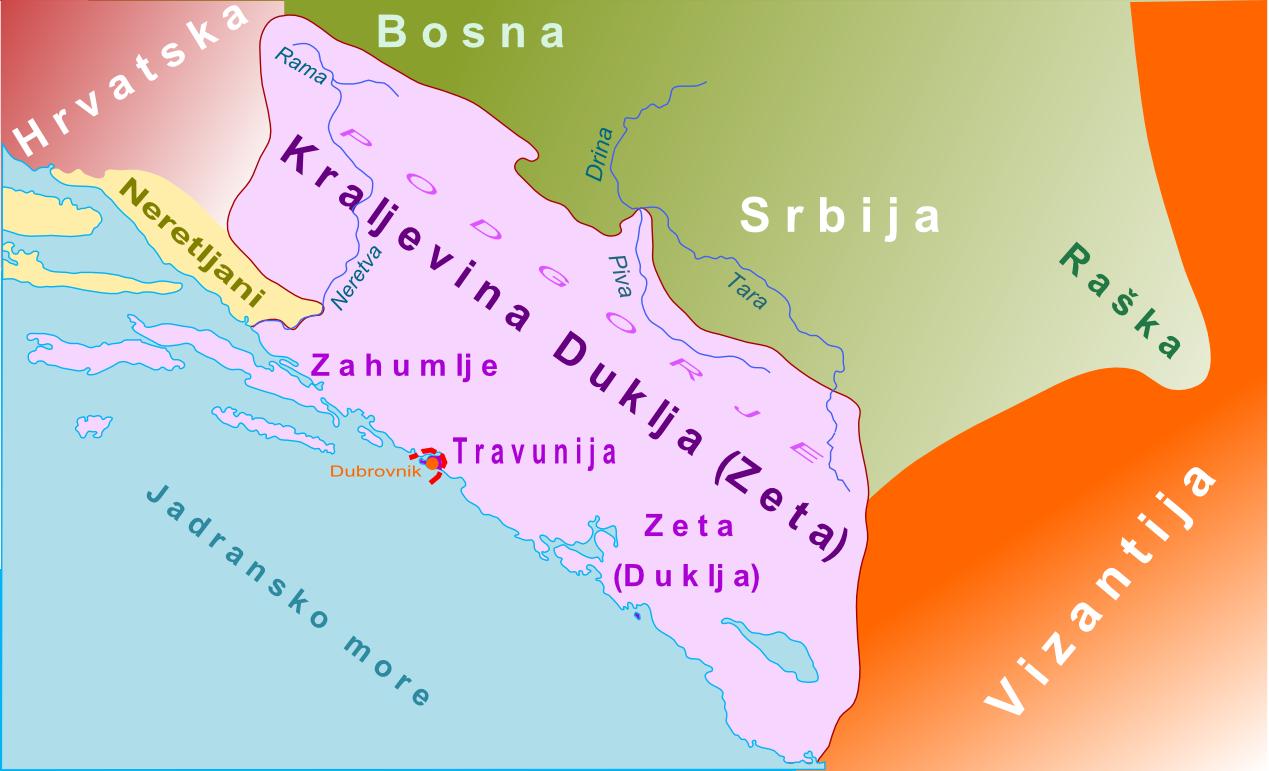 Crna Gora Istorija Vremenska Linija Od 477 1186