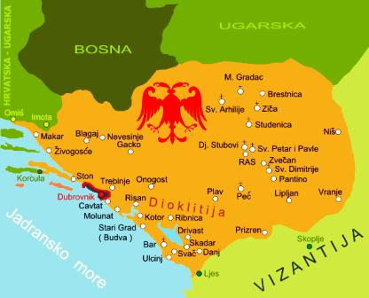 Crna Gora Istorija Vremenska Linija Od 1187 1359